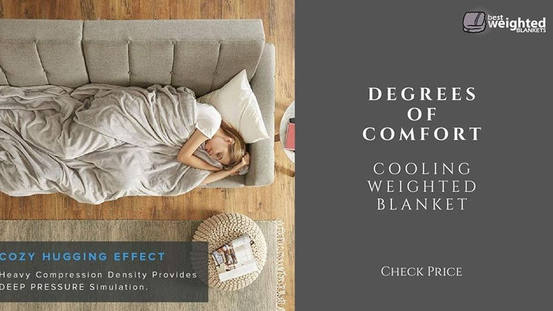 best rated weighted blanket for hot sleepers 2021